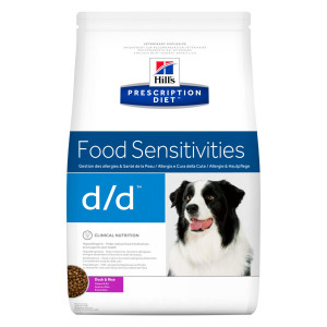 Hill's Prescription D/D Food Sensitivities hondenvoer eend & rijst 5 kg