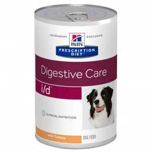 Hill's Prescription I/D Digestive Care kalkoen 360 g hondenvoer 4 trays (48 x 360 gram)